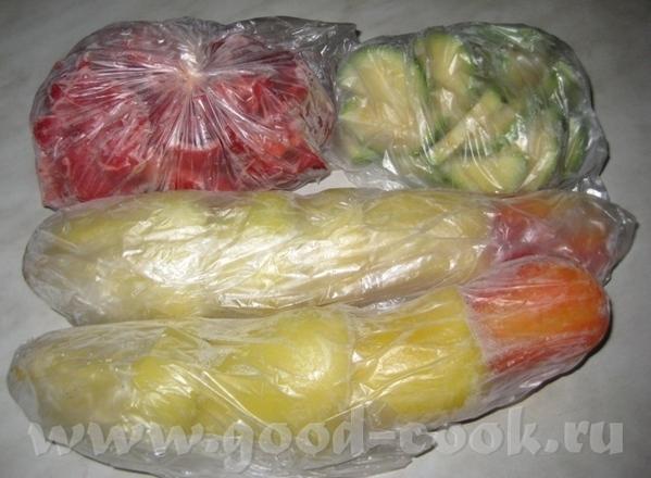 Я в морозильник кладу зелень в двух пакетах, тогда не пахнет - 2