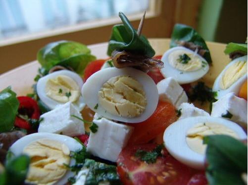 вегетарианская тема Средиземноморские буше ot Cher