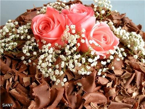"""А это любимый торт (после """"Наполеона"""") моей семьи (рецепт мой ),который делала на день рождения сын... - 2"""