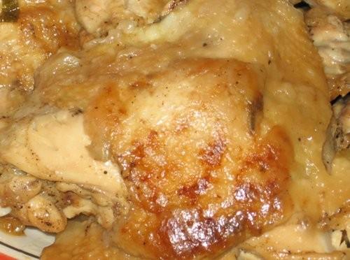 Блюда от , Жареная курица с соусом из зеленого лука и сельдерея (Только соуса не видно, я им полива... - 2