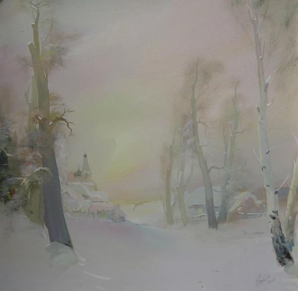 Зима крупнее Взято у Левконои