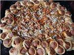 Дрожжевое тесто для пиццы с паприкой Пицца на дрожжевом тесте с паприкой Пицца на дрожжевом тесте с...