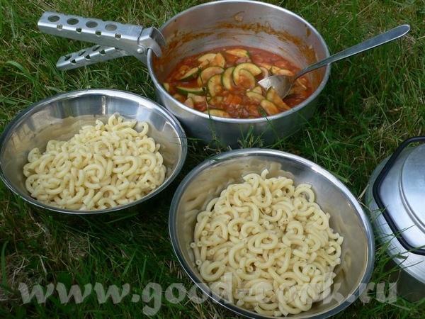 Ну и поскольку темка кулинарная, то как же без тарелок И на кемпинге в походных условиях можно пита...