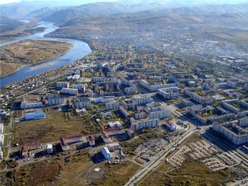 Саяногорск на карте Хакасии появился 30 лет назад, когда в верхнем течении Енисея началось строител... - 2
