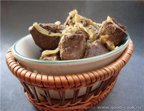 Печень прованская /Foie a la moissonniиre (в источнике переводчик жуть как перевел, дополнительно н...