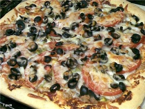 Морской коктейль с рисом Шампиньоны,запеченные с сыром и шпинатом Язык заливной Пицца с тунцом и ов... - 4