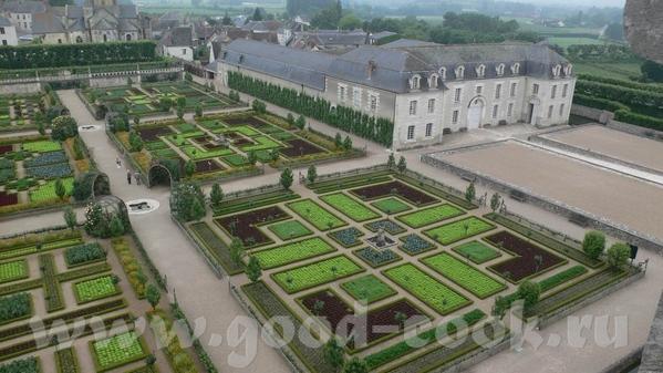 Но самым примечательным в данном замке был сад