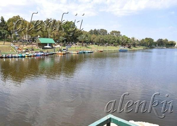 Сначала это весеннее утро мы провели на реке Яркон - 3