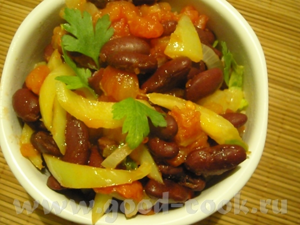 Хорошее овощное блюдо