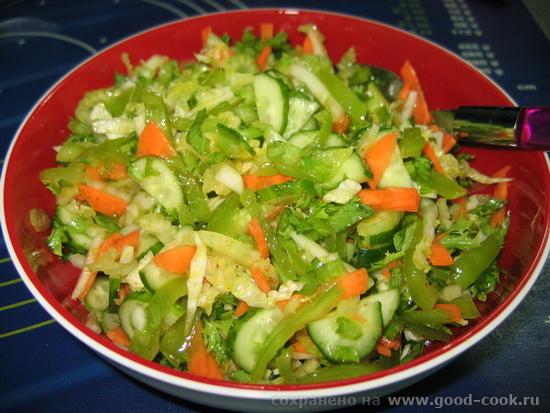зеленый салат2-1
