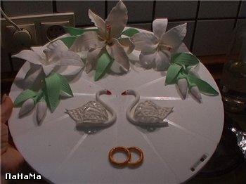 Вот так мой торт мог бы выглядеть с лебедями, но я так хотела фужеры, что лебеди туда уже не вписыв...