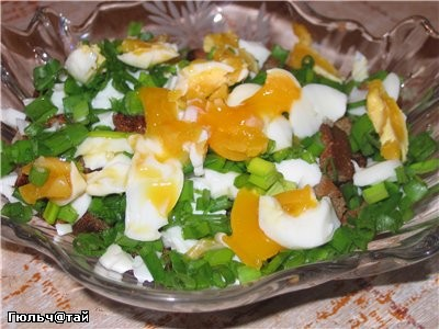 Салат с греночками