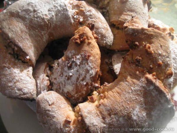 РОГАЛИКИ К ЧАЮ С ФУНДУКОМ (картофельное тесто) Мягкие, ароматные ореховые рогалики