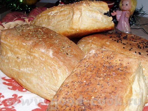 Домашние булки на сыворотке Из этих булок я делала бутерброды с икрой - 3