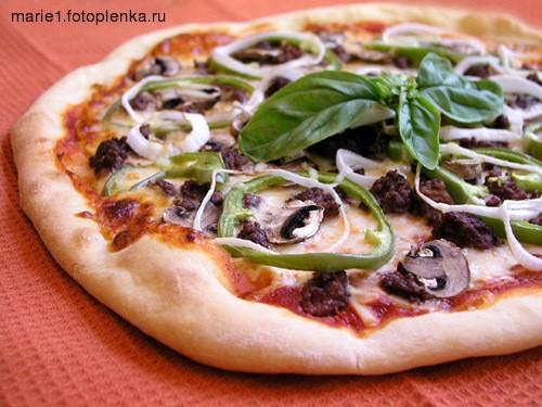 А я сегодня сделала 3 пиццы