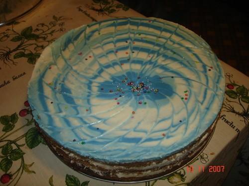 Очень стыдно было такую кривульку дарить, но имеиница была рада Это мой самый первый торт с мармышк... - 3