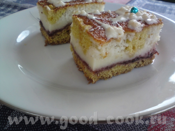 Пока народ собирается - угощу вас пирожным с прикольным названием Пенопласт (недавно попробовала с...