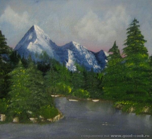 Моя первая картина по Боб Россу