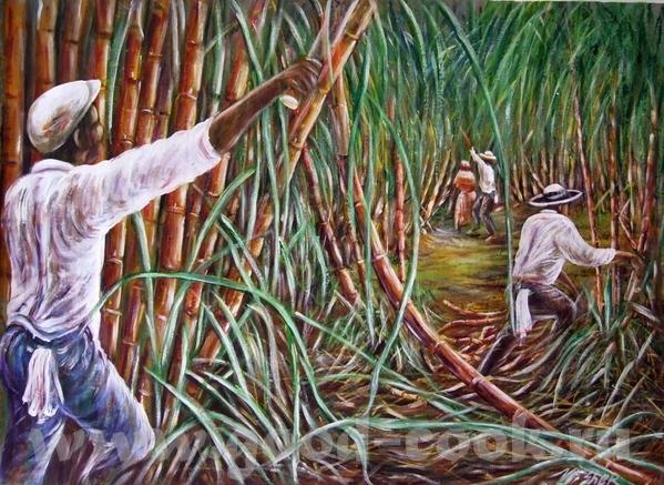 CUBA, JAMAICA- кубинское искусство, ямайское искусство CUBA- xудожник Valle Cuba- xудожник Alain C... - 7