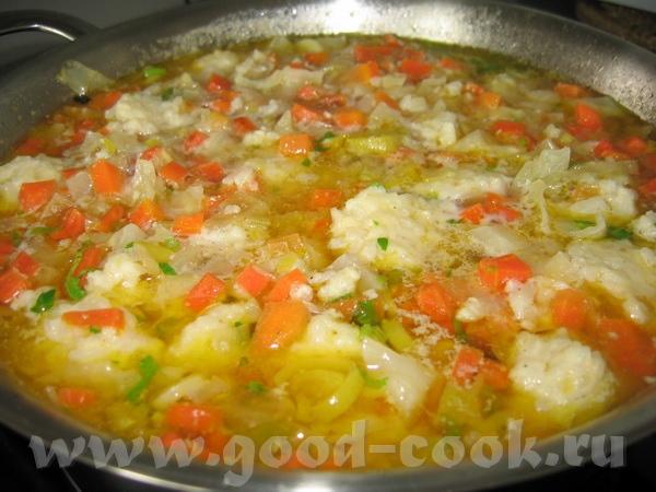 """Блюда от Вalерия, """"Ручная работа"""" : Морковный суп с рисовыми шариками очень легкий как в приготовле... - 2"""