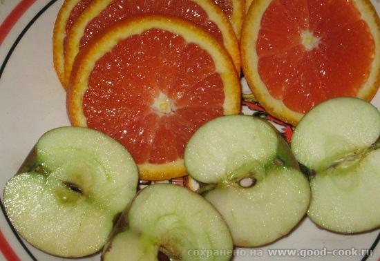 И на десерт: Впервые купила красные апельсины на базаре, они оказались очень сладкими - 4