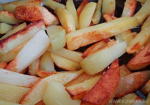 Ух, Ириш, картошечка, салатик - все выглядит просто ооочень аппетитно - 2