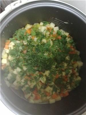 """Рагу с кабачками """"Януськина радость"""" Нам потребуются: Кабачки морковь картофель лук репчатый масло... - 2"""