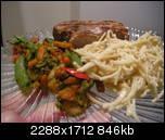 Вот такой был наш вчерашний ужин Это стейк туны загриленный,овощи и альфредо паста