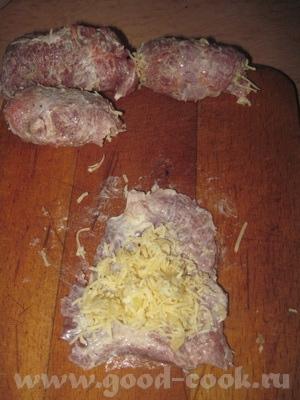 Острые закусочные рулетики На 10-12 штук 1 кг филе свинины, 4-5 ст - 6