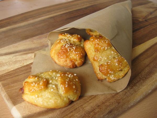Овсяные булочки с сыром