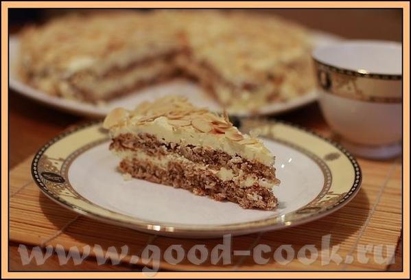 бабЛен, пасиба тебе за Шведский миндальный торт Долго я собиралась его испечь, но вот наконец осуще...