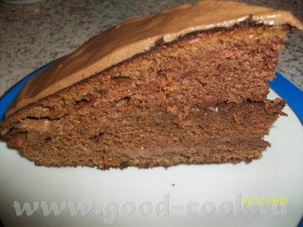 """Лида, спасибо за рецепт торта """"Прага"""", очень вкусно и быстро, я не делала глазурь, но это из-за лен..."""