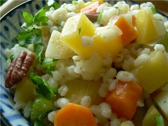 Сегодня разгрузочный день, еда легкая состоит из овощей с злаков - 2