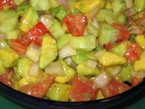 Сальза фантастическая: Таня, большое спасибо за рецепт, это вкусный, свежий и пикантный салат - 2