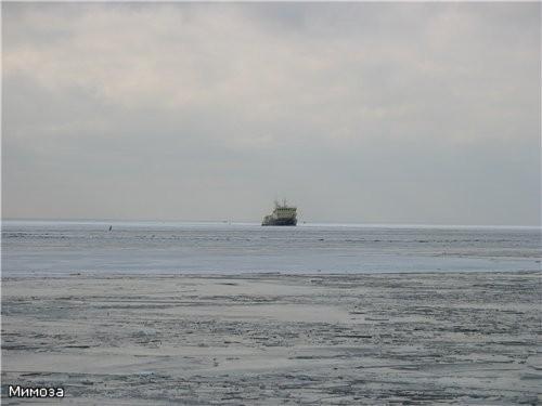 А это уже самое место впадения Невы в Финский залив - 2