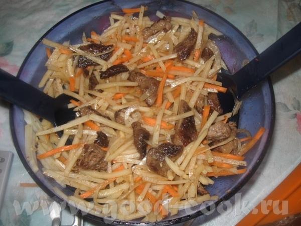 Теперь добавляем по вкусу чеснок (пару зубчиков), паприку, черный молотый перец, соевый соус, уксус... - 2