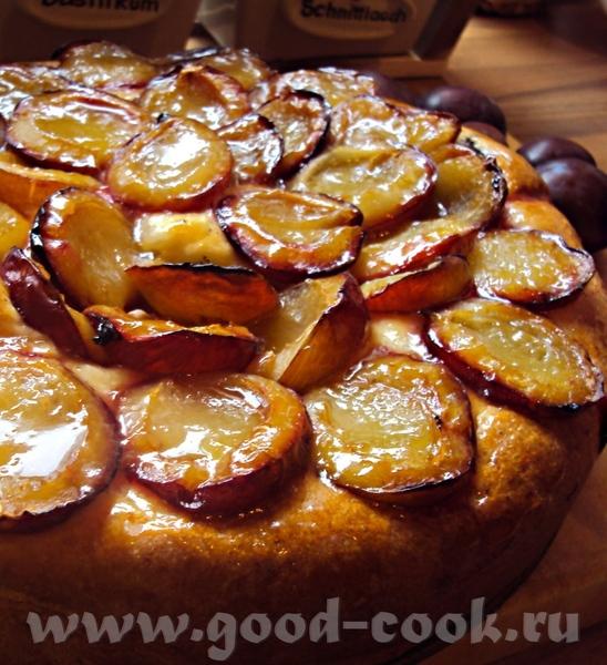 Сливовый пирог-улитка с маком 375 г муки 1 пакетик сухих дрожжей (8 грамм, Dr
