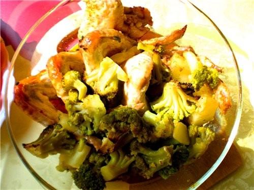 На первое борщечок Икорочка по-восточному Салат из сырой свеклы и моркови Крылья с овощами Запеканк... - 4
