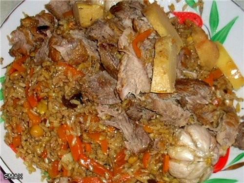 Плов «Интернационал» Мясо взял баранину и свинину в равных пропорциях(Волгоград) и чуть чуть курдюк... - 7