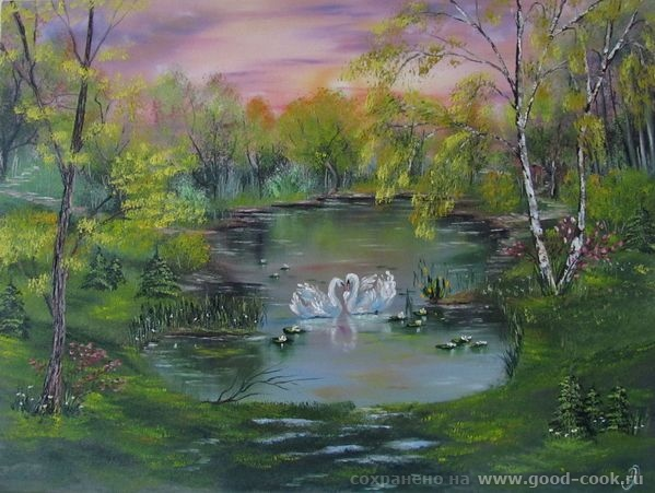 Рзеро с лебедями