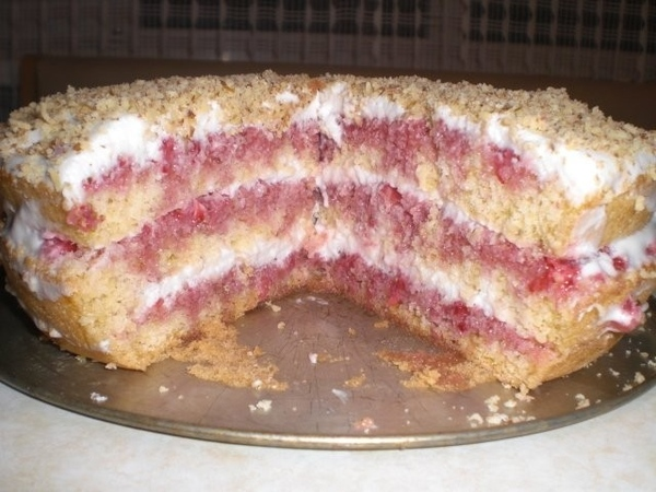 Клубничный тортик - 5