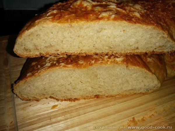 Сырный хлеб-разрез