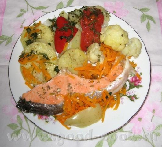 Суп с грибами, фрикадельками и домашней лапшой Рыба в пароварке - 2