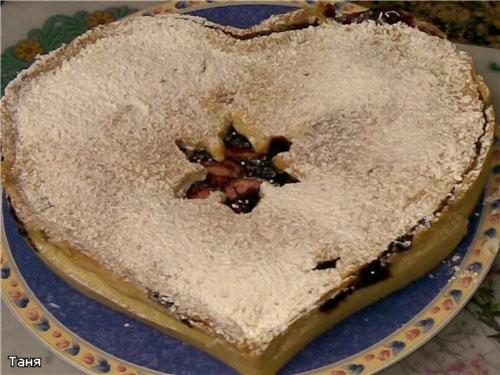 Пирог яблочный Пай с яблоками и смородиновым вареньем Грушевый пирог Пирог с бананми и сливами - 2