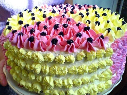 Спасибо Ирочке-джазик за медовый торт