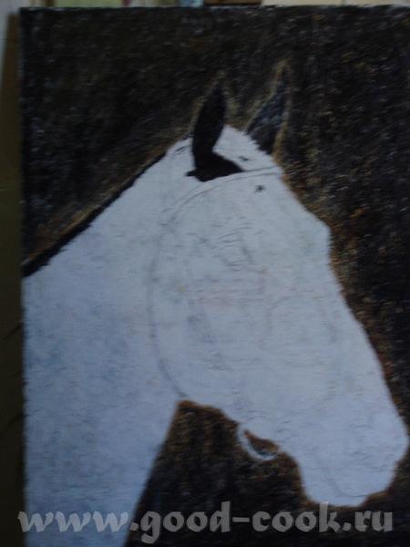 ВВыбрала специально портрет на фото и уроки с учебника похожие что б было проще сделать экскиз на х... - 6