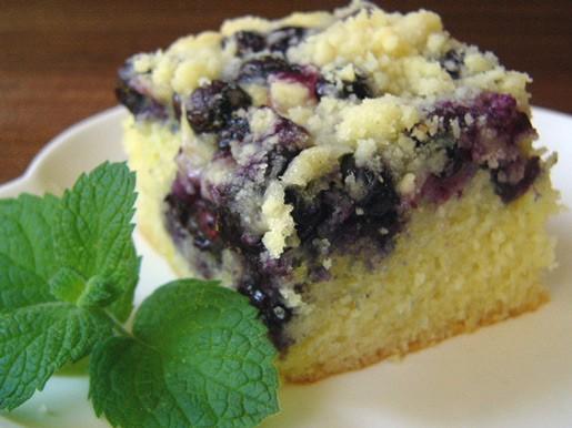 Пирог с ревенем и клубникой Лимонно-лаймовые квадратики с черникой Пирог с черникой к кофе от Джене... - 3