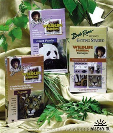 Bob Ross - WildLife Painting Techique - Рисование дикой природы Описание: Обучение рисованию дикой природы по технике...