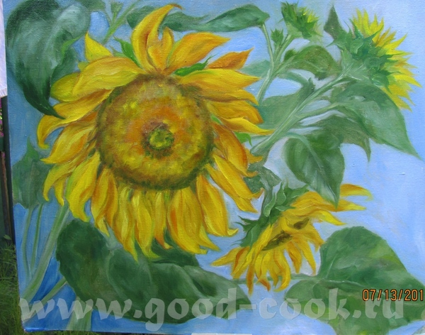 Хочу показать зарисовки с натуры (была у мамы в саду), жара дикая, пыталась зонтик одной рукой держ...