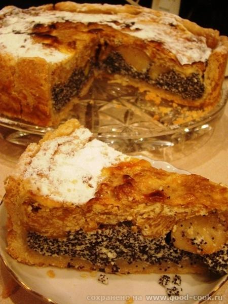 пирог Яблочко срез